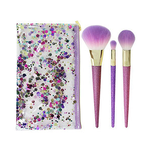 Set of Make-up Brushes Shimmer & Shine Real Techniques (4 pcs)