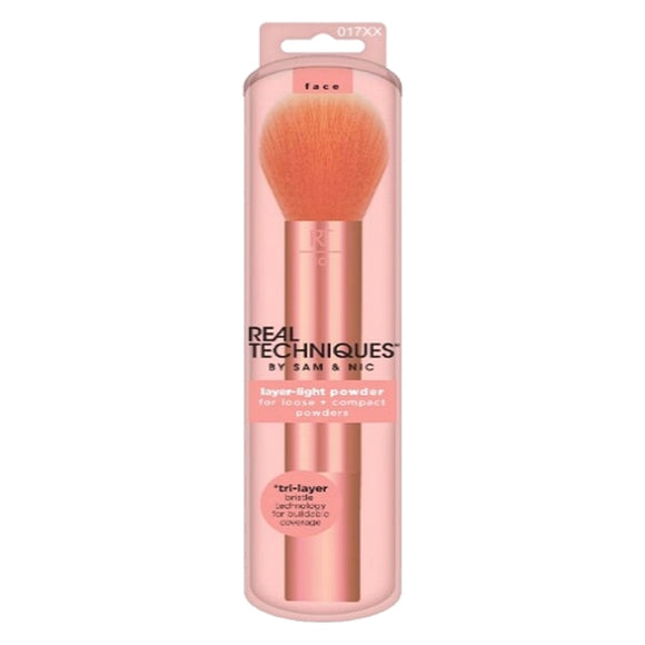 Make-up Brush Light Layer Real Techniques Face powder