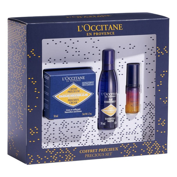 Women's Cosmetics Set Immortelle L'occitane (3 pcs)