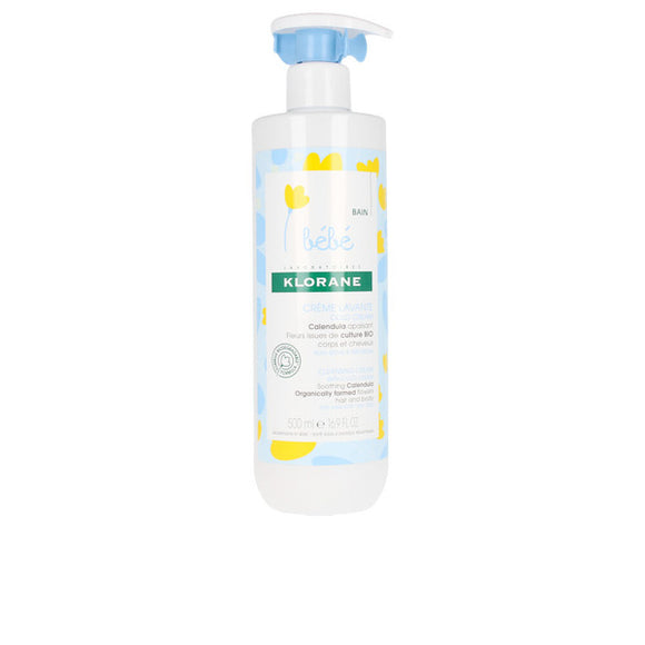 Cleansing Cream for Babies Cleansing Klorane (500 ml)