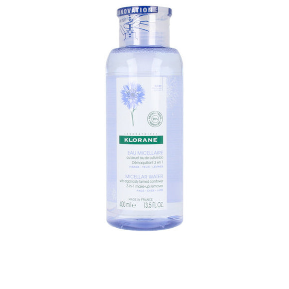 Micellar Water Klorane 3-in-1 Make Up Remover (400 ml)
