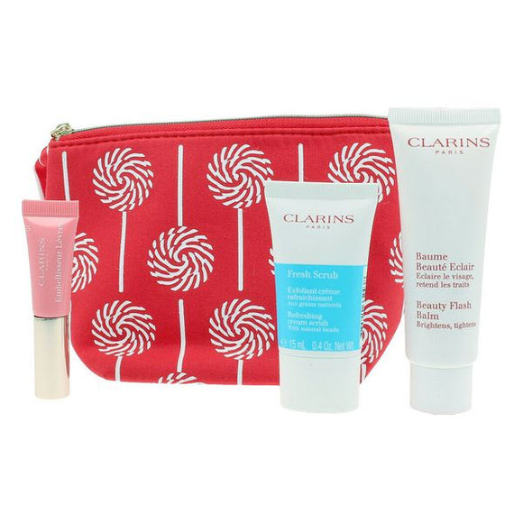 Unisex Cosmetic Set Baume Beaute Eclair Clarins (3 Pieces)