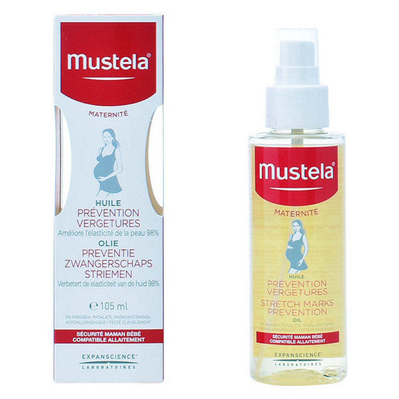 Anti-Stretch Mark Oil Mustela 105 ml (Refurbished A+)