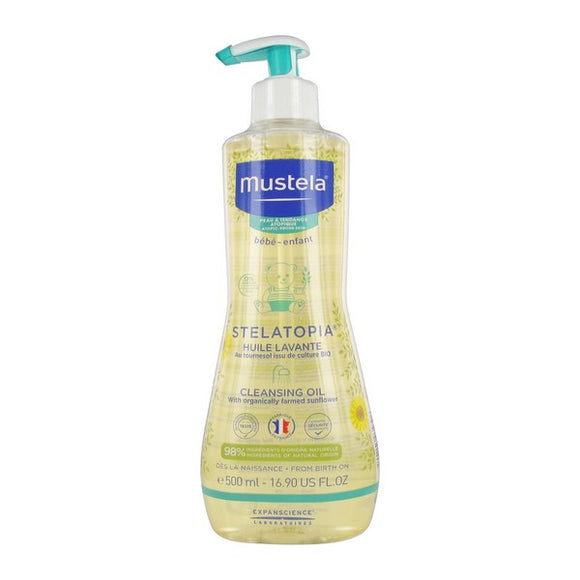 Bath Gel Stelatopia Mustela (500 ml)