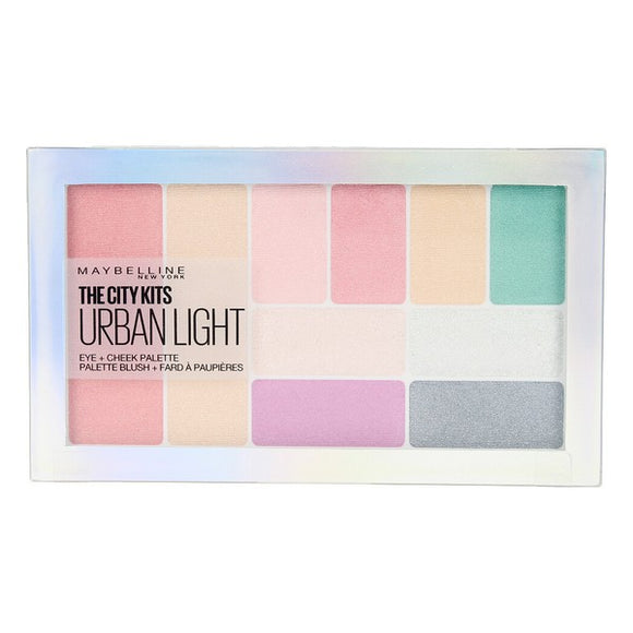 Eye Shadow Palette City Kits Urban Light Maybelline (12 g)
