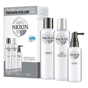 Unisex Hair Dressing Set System 1 Nioxin (3 pcs) Anti-fall Fine hair