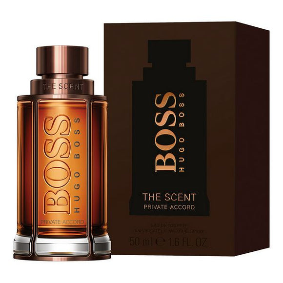 Men's Perfume The Scent Private Accord Hugo Boss EDT (50 ml)