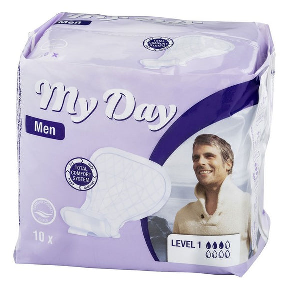 Incontinence Sanitary Pad Men Active My Day (14 uds)