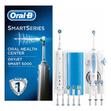 Electric Toothbrush + Oral Irrigator Oral-B SMART5000+OXYJET Bluetooth White