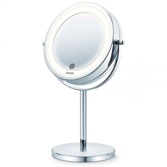 Turning mirror Beurer BS-55 LED Silver