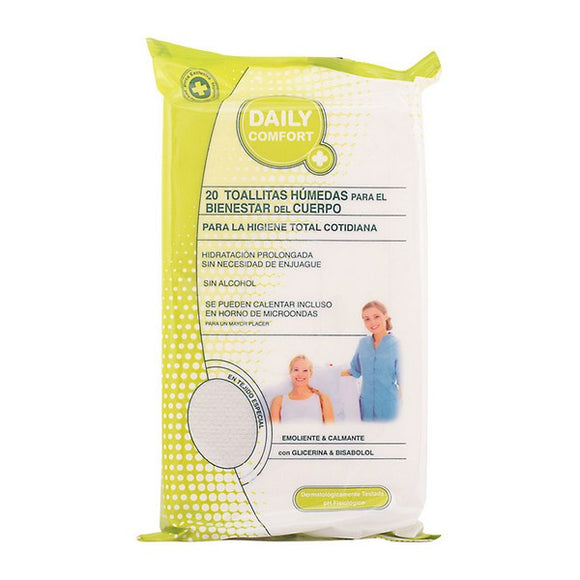 Intimate Hygiene Wet Wipes Daily Comfort (20 uds)