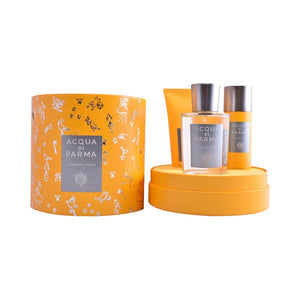 Men's Perfume Set Colonia Pura Acqua Di Parma (3 pcs)