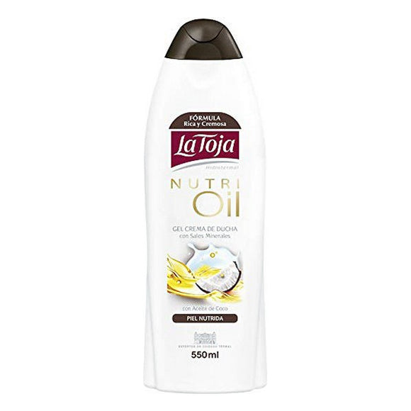 Shower Gel Hidrotermal Nutri Oil La Toja (550 ml)