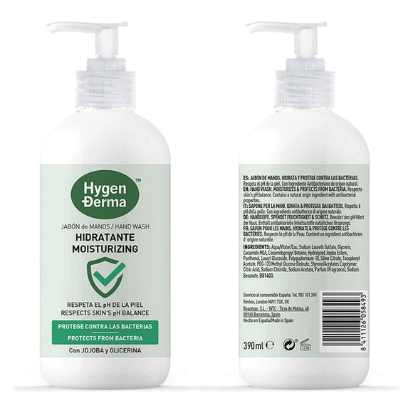Hand Soap Hygenderma Hygen-X (390 ml)