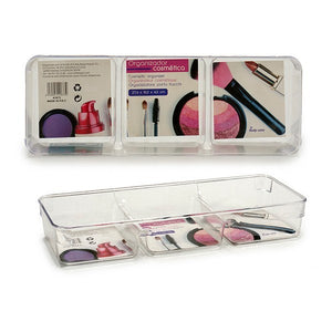 Make-up organizer (10 x 4 x 27,5 cm) Plastic