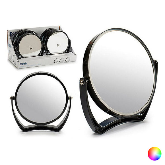 Magnifying Mirror Crystal Plastic