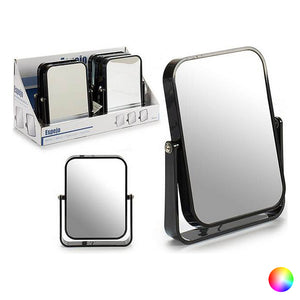 Mirror with Mounting Bracket Crystal Plastic