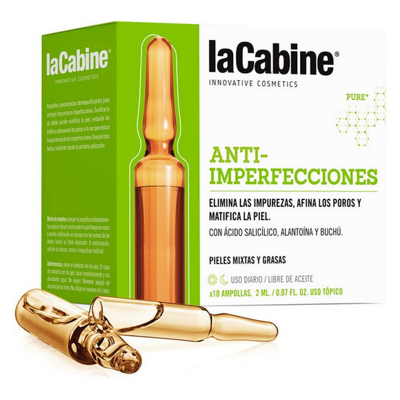 Ampoules laCabine Anti-imperfections (10 x 2 ml)