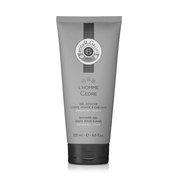 Bath Gel L'homme Cèdre Roger & Gallet (200 ml)