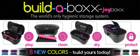 8 New Colors Sex Toy Storage