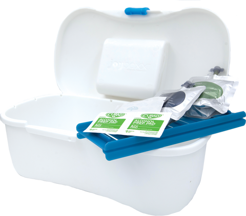 cleansafebox hygienic medical storage container