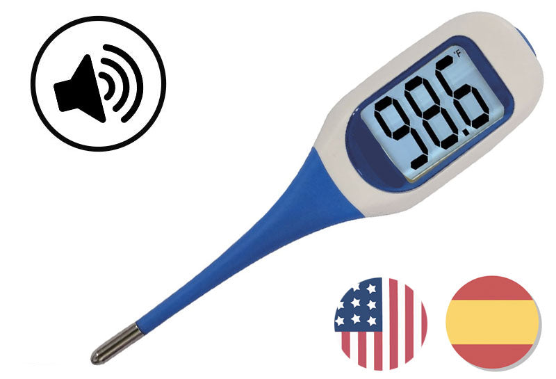Talking Digital Thermometer English and Spanish