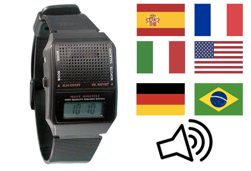 Reloj Parlante Digital  Multi Lenguajes