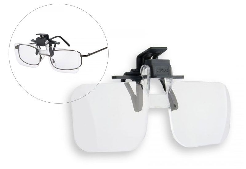 Magnifying Clip on & Flip  for Reading