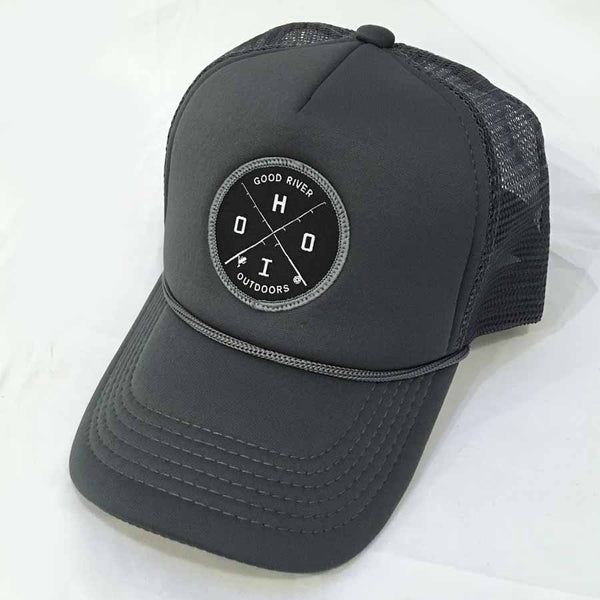 Good River Charcoal Foamy Trucker