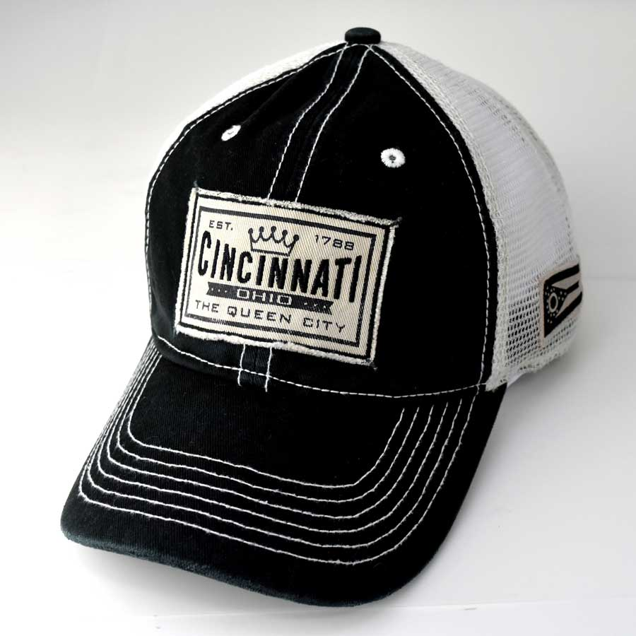 Cincinnati Queen City Ohio Trucker Hat
