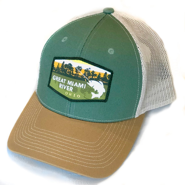 Great Miami River Trucker Hat