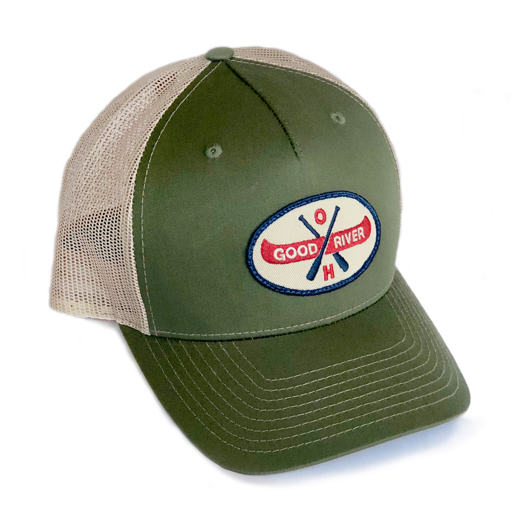 Canoe Ohio 5-Panel Trucker Hat