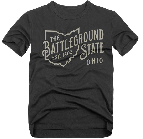 Battleground T-Shirt - Vintage Heathered Black