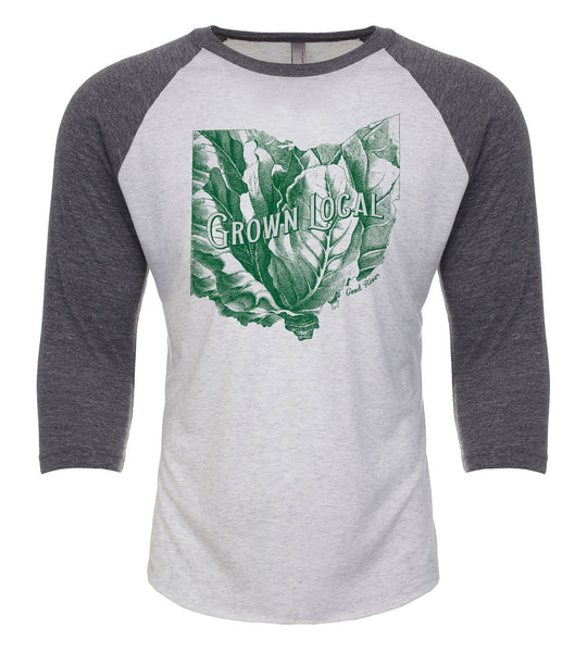 Grown Local Ohio State Raglan T-Shirt