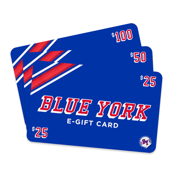 Blue York E-Gift Card