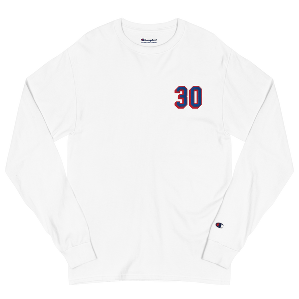 30 •  Embroidered Champion Long Sleeve