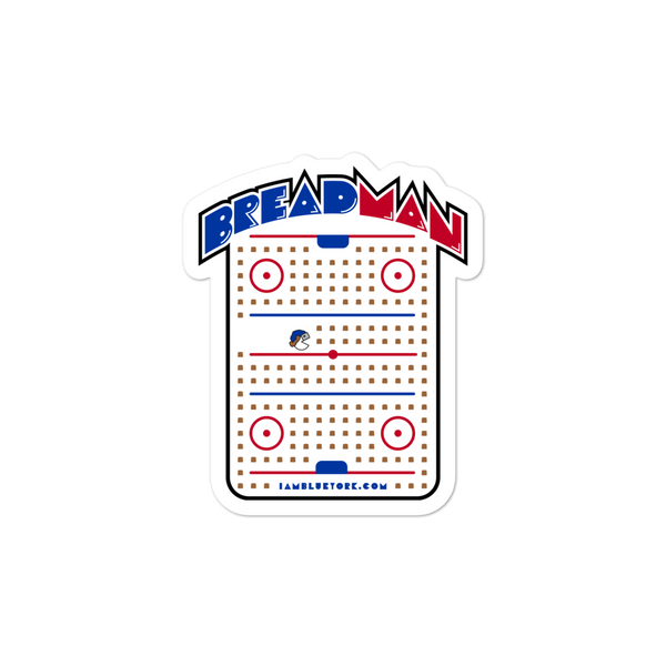 Breadman Arcade Sticker