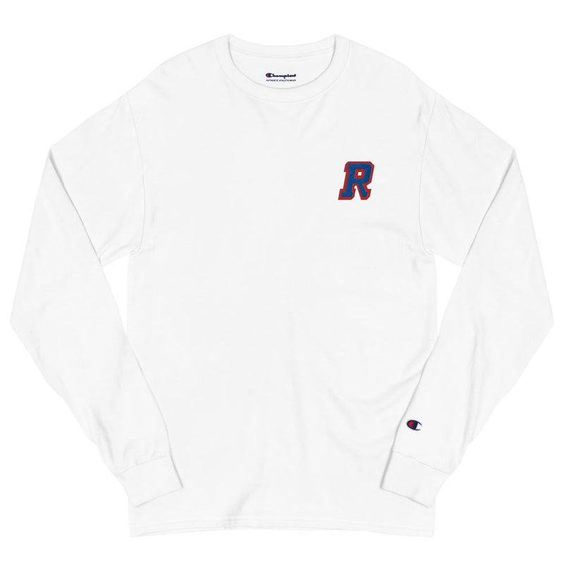 R • Embroidered Champion Long Sleeve