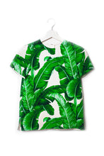 Load image into Gallery viewer, Banana leaf kids silkshirt