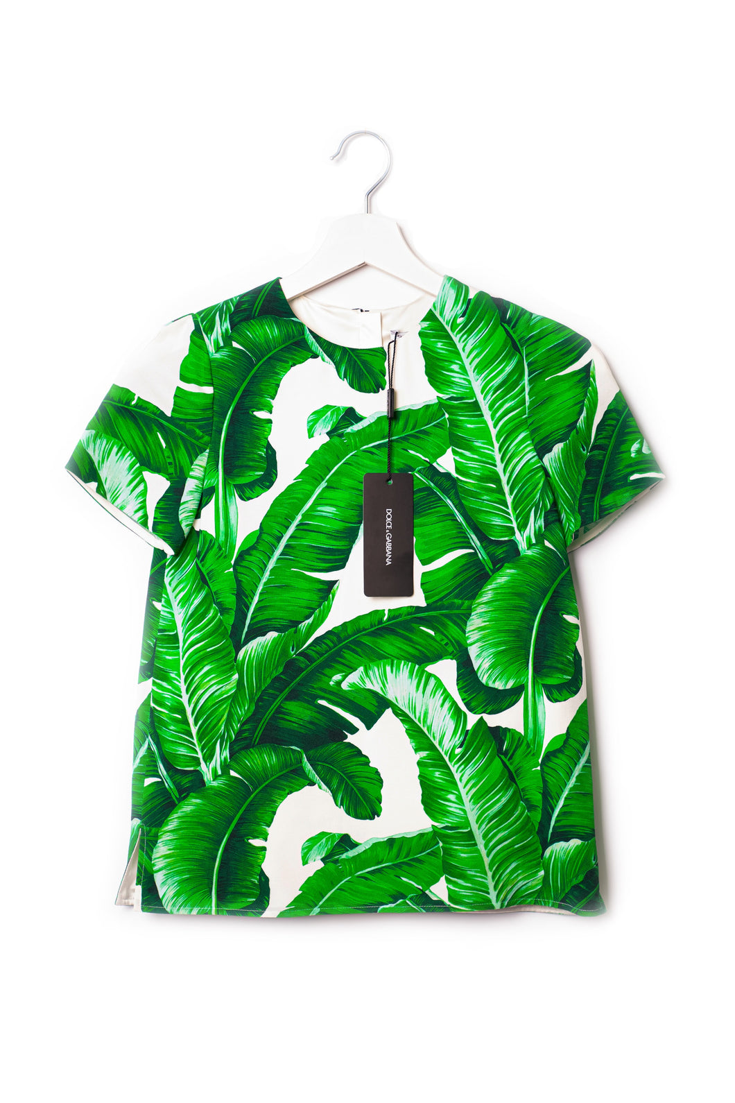 Banana leaf kids silkshirt