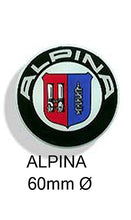 Load image into Gallery viewer, Alpina Resin wheel centre car badge