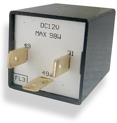 12v 3-terminal electronic flasher unit - CLS0184