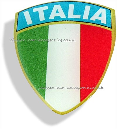 Italia shield - CXB0131