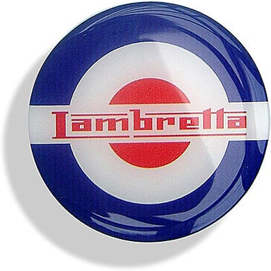 Lambretta red, white and blue 65mm Roundel - CXW10161