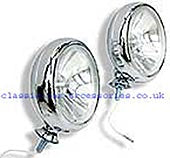 Chrome spot lights for any car including 12v bulbs (sold singly)