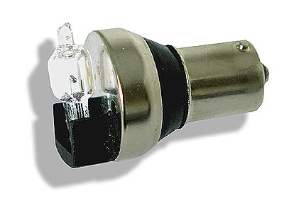 Easy fit reverse beeper with 20W halogen bulb . Fitted by replacing your reverse light bulb.
