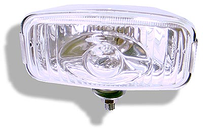 Stainless steel reverse light  with glass lens & halogen bulb contemporary design