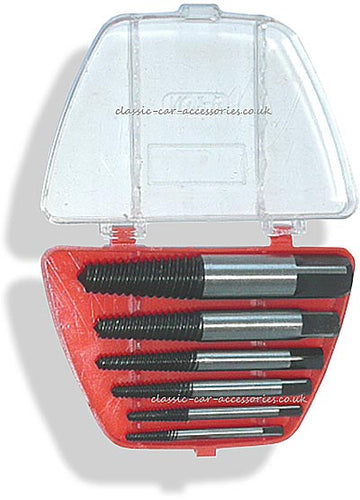 6 piece Easy-out Screw extractor set - CT0821