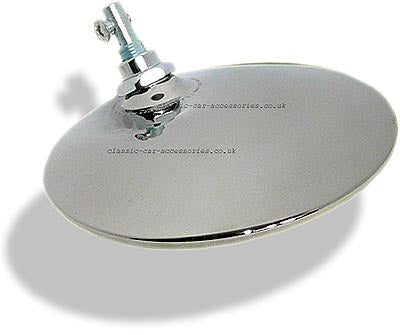 Tex round exterior mirror head ONLY. Convex (M50103)