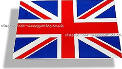 Union Jack sticker (small) 80mm x 50mm - CXB0111